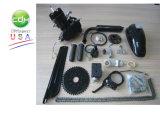 Schwarzer Hersteller-Fahrrad-Motor des Motor-80cc A80 Cdh
