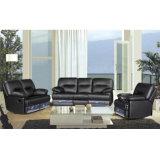 Echtes Lederrecliner-Sofaelektrisches Recliner-Sofa-Massage-Sofa 6018#