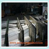 O véu do poliéster suportou a tela biaxiaa do Knit da fibra de vidro para o Pultrusion