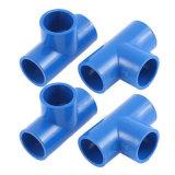 Azzurri 40mm x 40mm tubo del PVC del gomito dell'uguale da 90 gradi
