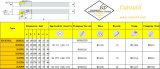 標準回転ツールの旋盤に一致させる鋼鉄HardmetalのためのCutoutil Mcknr/L 2020k12