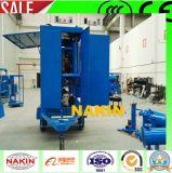 Purificador de óleo de transformador de vácuo de tipo móvel com reboque (6000L / H)
