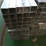 Q235 Black Square Tube Steel com superfície de óleo