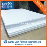 Rullo rigido bianco dello strato del PVC della plastica