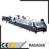 Caixa de papel do revestimento UV que cola o canto seis da máquina quatro (800GS)