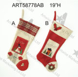 Decorazione Stocking-2asst di natale