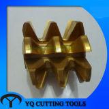 HSS M2/M35 DIN3972のモジュール複雑なギヤ歯切り工具(M1-M14)