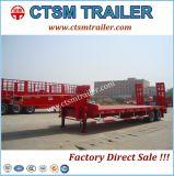 ثقيل تجهيز نقل [لوو-لوأدر] شاحنة مقطورة