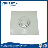 HVAC 에어 컨디셔너 백색 색깔 알루미늄 천장 둥근 공급 공기 유포자