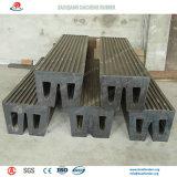 Pára-choques de borracha marinhos amplamente utilizados no porto marítimo
