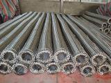 Aislante de tubo de alta presión flexible del acero inoxidable