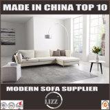 Sofá moderno da pena do couro da sala de visitas do estilo italiano Home da mobília