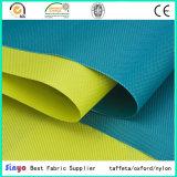 Het polyurethaan bedekte TextielStof van de Doek van Oxford van de Polyester van 100% de Waterdichte 600d voor Zakken met een laag