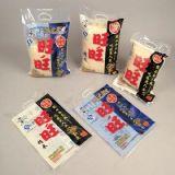 Empaquetage en plastique pour le riz, avec le bon montant debout