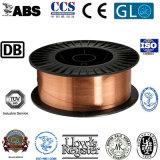 Collegare rivestito di rame del collegare di saldatura di MIG del CO2 Er70s-6/Sg2 Solider