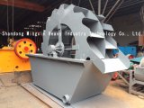 A máquina de lavar da areia de Xs é dividida na máquina de lavar hidráulica da areia, máquina de lavar da areia da vibração