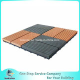 Водоустойчивые плитки пола WPC DIY блокируя