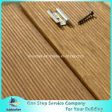 Quarto de bambu pesado tecido 1 da casa de campo do revestimento do Decking costa ao ar livre de bambu