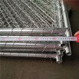 Ligação Chain provisória galvanizada mergulhada quente de espessura de parede de 1.6mm que cerc os painéis