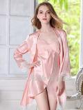 La lingerie de chemise de nuit de pyjamas de vêtements de nuit a placé pour des dames