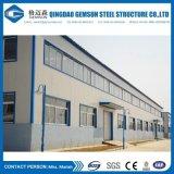 Construction préfabriquée d'entrepôt d'atelier de structure métallique de modèle