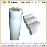 Papier synthétique auto-adhésif de la couleur blanche pp avec la qualité