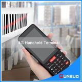 Android PDA con lector de RFID inalámbrica 4G con la tarjeta SIM y del escáner de código de barras (PDA401)