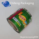 Película de rodillo impresa plástico biodegradable del acondicionamiento de los alimentos del arreglo para requisitos particulares