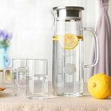 De milieuvriendelijke Pot van het Water van het Glas, de Ketel van het Water van het Glas, de Waterkruik van de Kruik van het Water van de Fles van het Water van het Glas