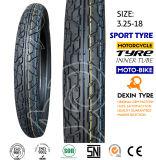 Parte posterior del deporte 3.25-18 del neumático de la vespa del neumático de la motocicleta de la moto