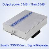 repetidor da G/M do ganho de 5watts 85dBm