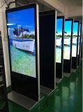 42 46 55 65インチの床の立場のデジタル表記、プレーヤーを広告するトーテム