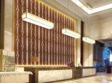 Papel pintado decorativo interior del cuero grabado 3D de China Suoya 1071-5