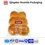 Sac transparent d'emballage de pain du plastique OPP avec la FDA
