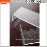 Unregelmäßiges ausgeglichenes gebogenes Aufbau-Glas