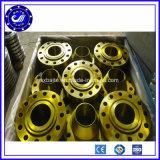 Brides de pipe d'acier inoxydable de la bride Pn16 de collet de soudure de pièce forgéee de constructeur de la Chine