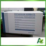 Apparenza colonnare e sferica del sorbato di potassio con purezza di 99%