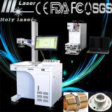 Machine d'inscription d'imprimante laser de fibre d'acier inoxydable en métal des prix les plus faibles