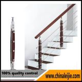 Balaustrada do borne do aço inoxidável para a escadaria espiral