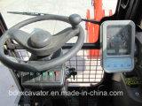 Máquina escavadora pequena da roda de China com o certificado ISO9001