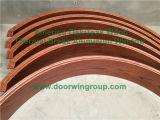 Guarnição & Architraves de madeira para o indicador de alumínio do Casement da madeira contínua, indicador do Casement com a maioria de tecnologia avançada da soldadura