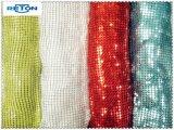 다채로운 재고 직물 Bailange 도매 유행 자수 Sequin 메시 직물