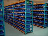 Cremalheira ajustável do metal do armazenamento do media do armazém
