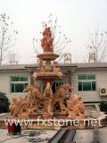 Fontaine de jardin en marbre sculpté