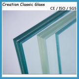 12mm + 1.90PVB + 12 millimetri di vetro laminato temperato