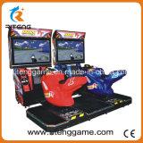 Motociclo che corre la macchina del simulatore della macchina del video gioco per la zona del gioco