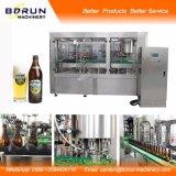 Máquina de rellenar de la cerveza automática llena
