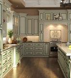 Het aangepaste Witte Stevige Houten Vrije Eenvoudige Meubilair van de Keuken