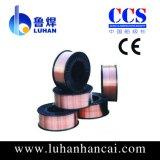 Trommel-Verpackungs-Schweißens-Draht 1.0mm/Copper beschichtete CO2 Schweißungs-Draht Aws Er70s-6