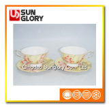Bone China Cup et Saucer of Bd028